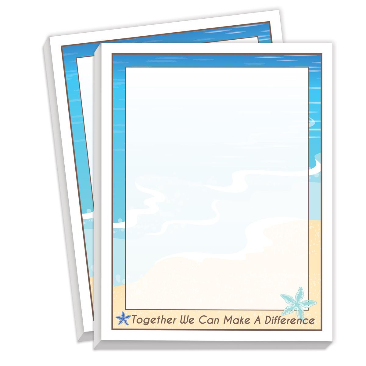 picture relating to Starfish Story Printable identified as Jointly We Can Create A Variation Notepads