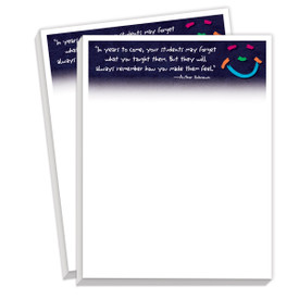 notepads with years to come message