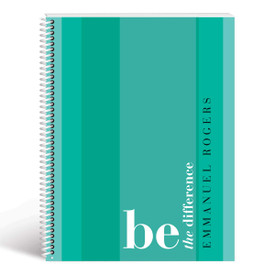 be the difference cover teal