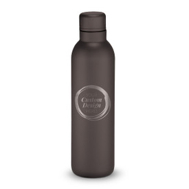 17oz. stainless steel insulated water bottle with your custom logo or design. 6 colors to choose from.