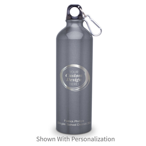 create your own 24 oz carabiner canteen with personalization