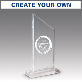 create your own option on acrylic apex base award