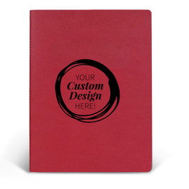 Add your logo on the cover of this ApPEEL Grande Journal. 3 colors to choose from.
