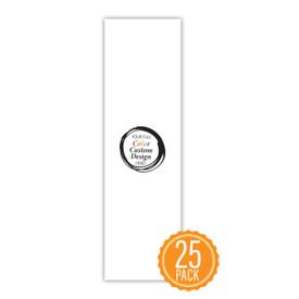 "Custom Bookmark For Students- Full Color School Logo Or Design- 2"" x 8"""