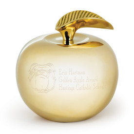 Our Custom Golden Apple Award is the perfect gift for teachers.