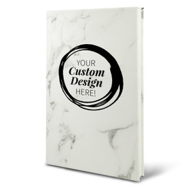 Add your logo on the cover of this richly textured hardbound journal. 9 colors to choose from.