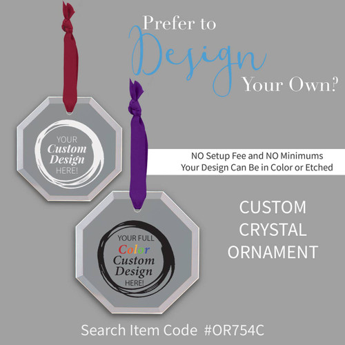 create your own crystal ornaments