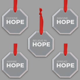 This Hope Series Crystal Suncatcher Ornament Set Is The Perfect Gift For Teachers