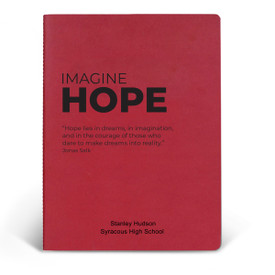 ApPEEL Grande Journal featuring the inspirational message Imagine Hope. 3 colors to choose from.
