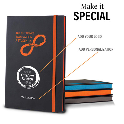 add you logo option to infinity black journal