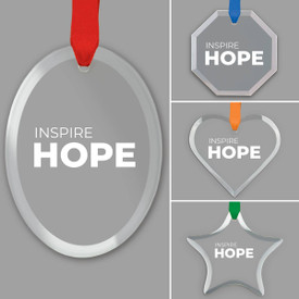 This Inspire Hope Crystal Suncatcher Ornament Is The Perfect Gift For Teachers