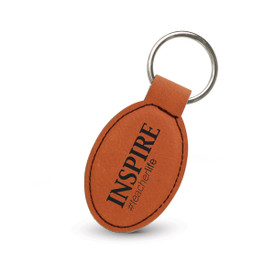 "This Durable Leatherette Keychain Features the Message ""INSPIRE #teacherlife"" and Is the Perfect Teacher Appreciation Gift"