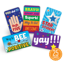 Let's Celebrate Positive Praise Cards Are The Perfect Classroom Supply To Support And Inspire Students