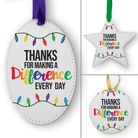 This Making A Difference Every Day Ornament Is the Perfect Way to Show Your Appreciation for Teachers This Holiday Season