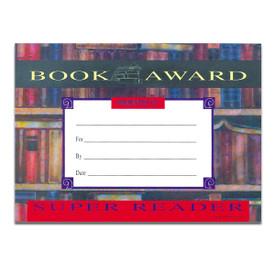 book award super reader certificate