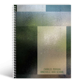 textured lesson planner cover