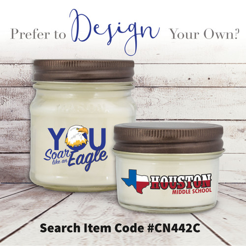 create your own mason jar candles