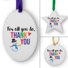 This Thank You Ornament Is the Perfect Way to Show Your Appreciation for Teachers This Holiday Season