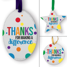 This Thanks For Making A Difference Ornament Is the Perfect Way to Show Your Appreciation for Teachers This Holiday Season