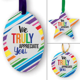 This We Truly Appreciate You Ornament Is the Perfect Way to Show Your Appreciation for Teachers This Holiday Season